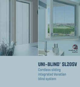 Screenline® SV Integral Blinds