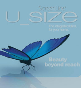 Screenline® Blinds – U Size