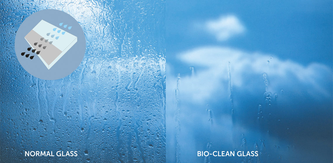 Self Cleaning Glass Low Maintenance Self Clean Glass