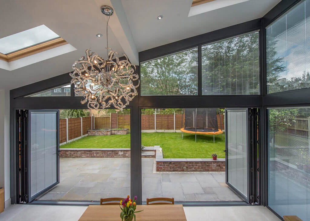 Striking The Glazing Balance For Blinds For Bi-Fold Doors