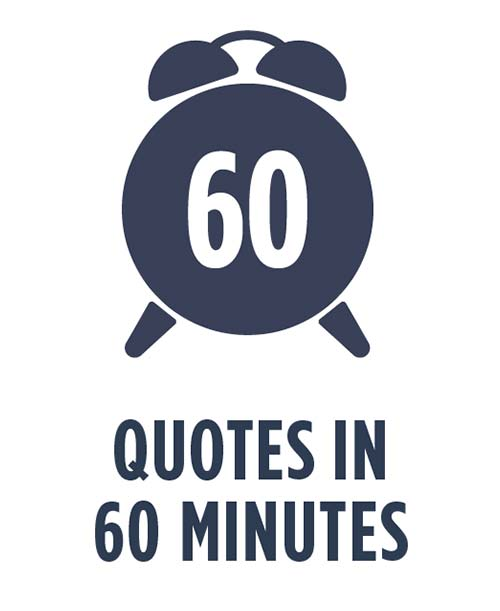 quotes in 60 minutes