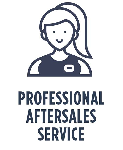 professional aftercare service