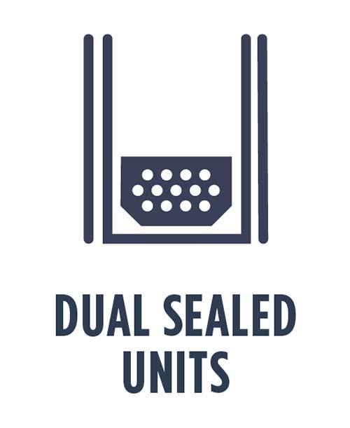 dual sealed units