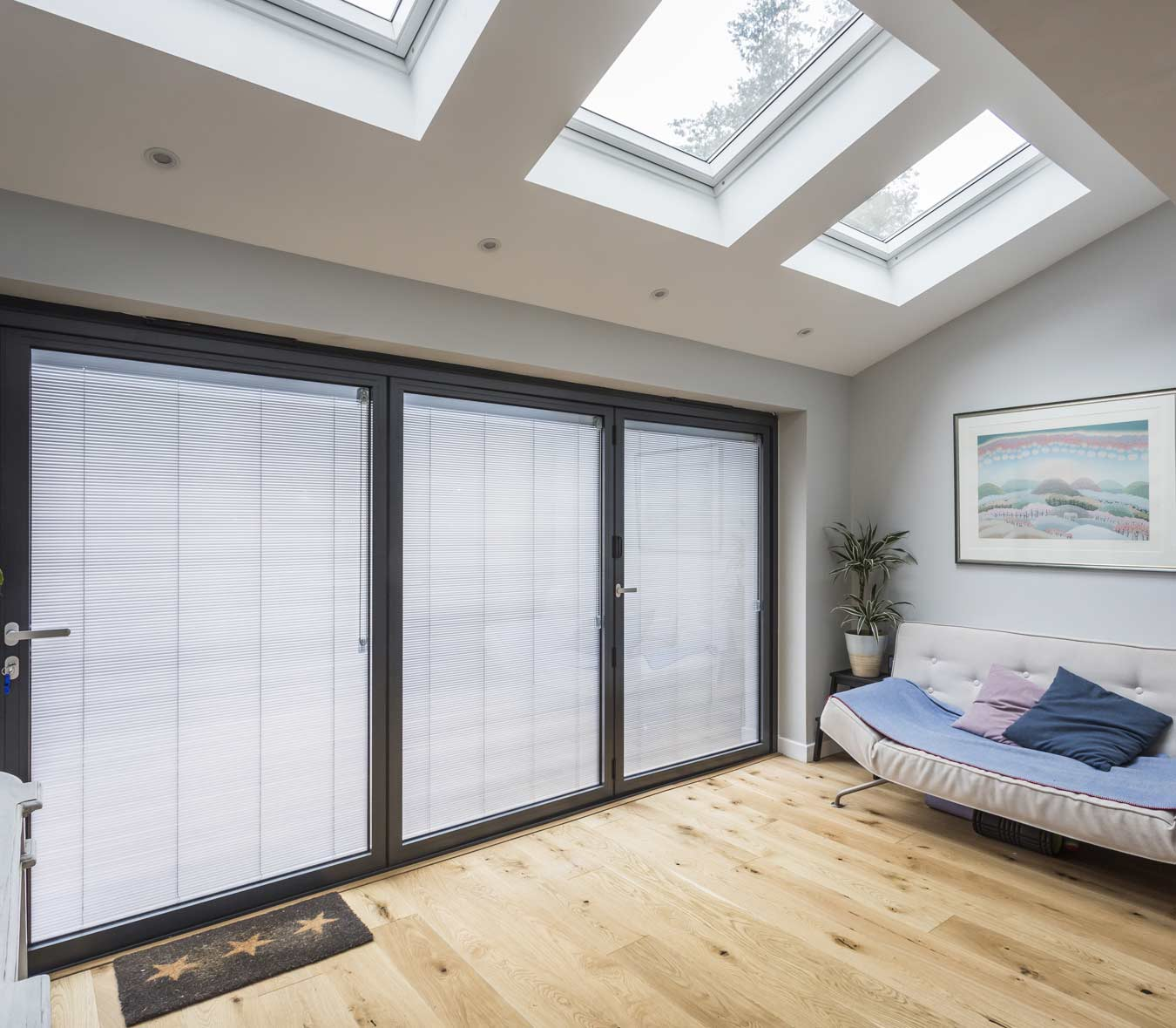 s system integral blinds