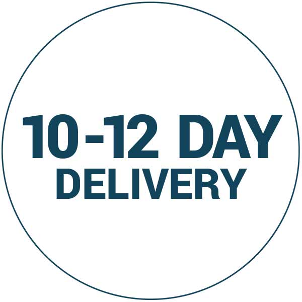 10-12 day delivery