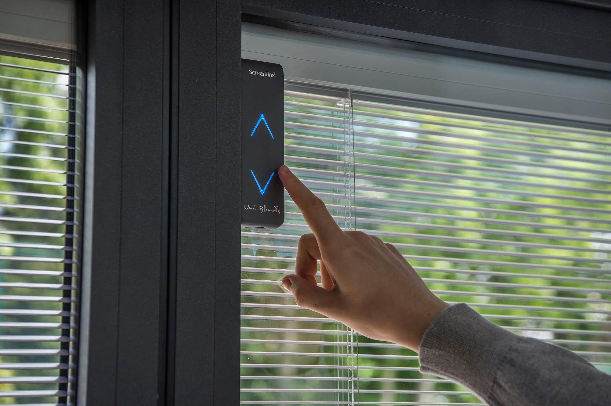 Solar controlled blinds are the W Smart option