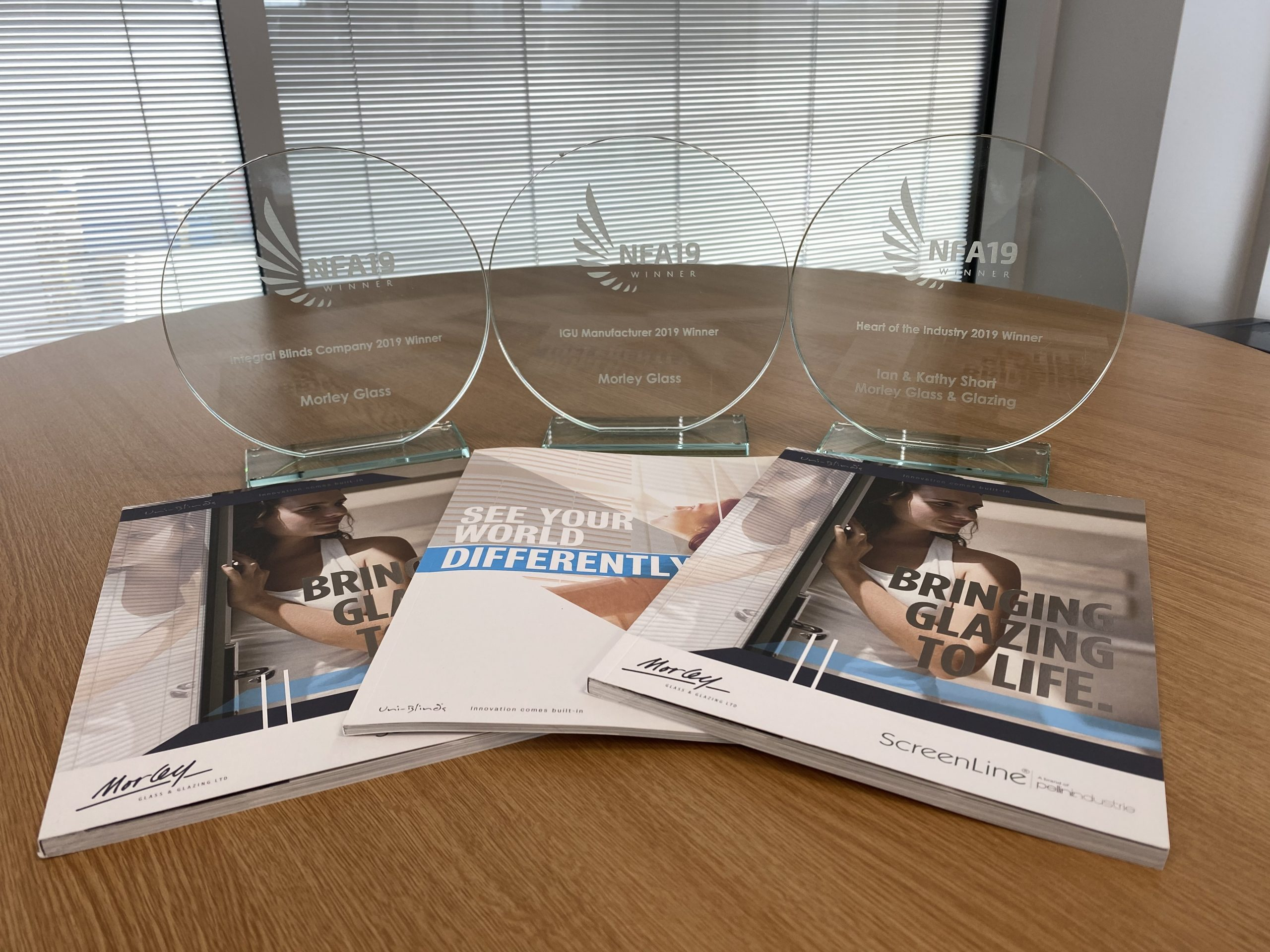 Three NFA nominations for Morley Glass & Glazing – again!
