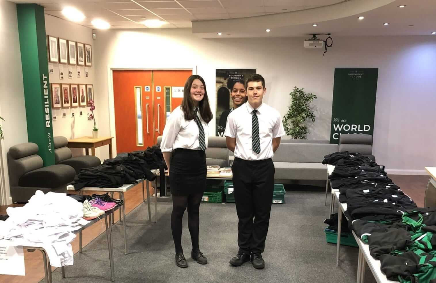 Morley Glass backs Roundhay School volunteers' green ambitions