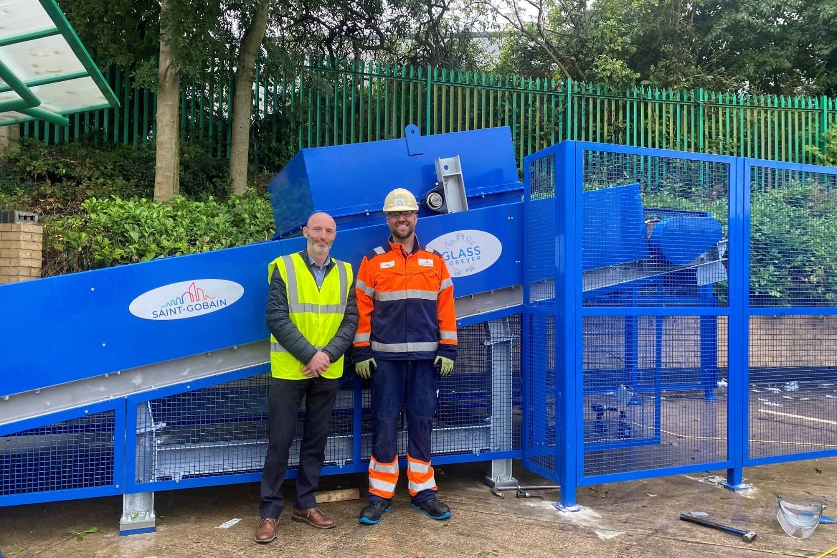 Morley Glass triples post-consumer glass recycling capacity